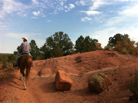 Garden Of The Gods On Horseback View From The Stables Picture Of Academy Stables