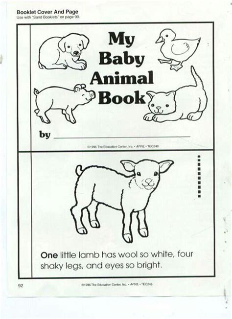 printable animal activity book 1000 images about baby animals on pinterest mini books
