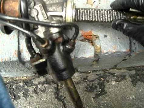 Rack And Pinion Damage by Worn Out Clunking Steering Rack Failure