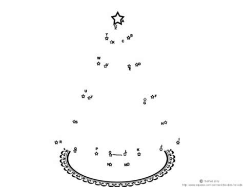 connect the dots christmas tree free printable connect the dots activity sheets wehavekids