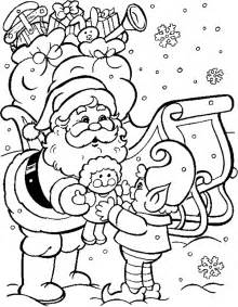 Christmas coloring photoshop