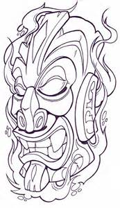 tribal mask4 tribal tattoo design art flash pictures images gallery symbols tribal mask4