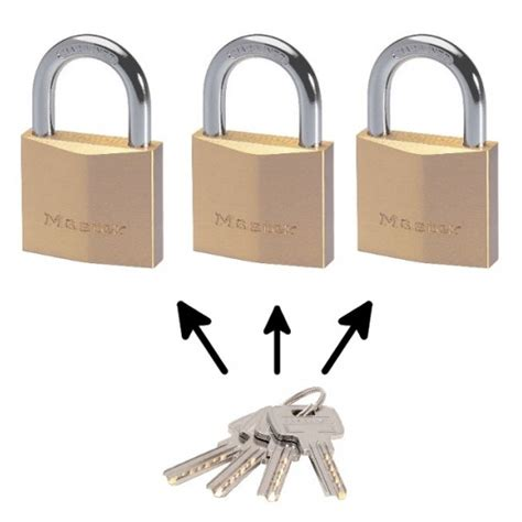 cadenas master lock master lock 2940 cadenas laiton pour applications