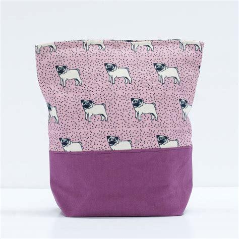 pug wash bag pug wash bag by poppy treffry notonthehighstreet