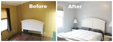 before and after bedroom makeovers master bedroom makeover with hgtv home by sherwin williams paint everyday shortcuts