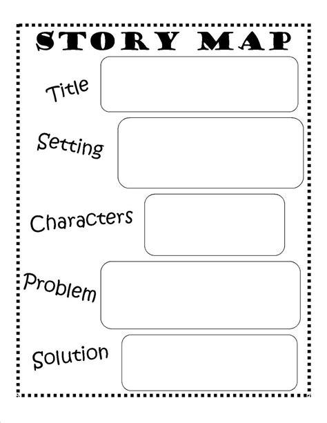 story map free printable reading writing ela