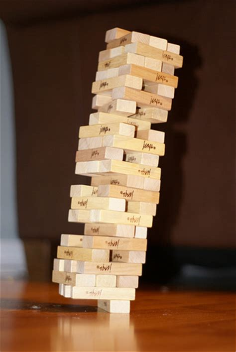 Or Jenga Jenga Driven Development Programming Zen