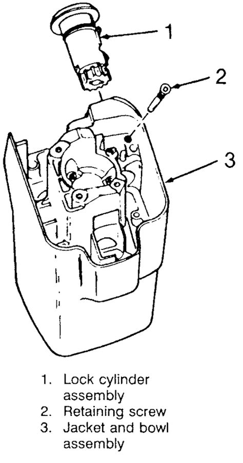 do i have to remove the entire steering column to replace the ignition lock cylinder on a 1993 1993 chevy lumina the entire steering column tilt steering wheel