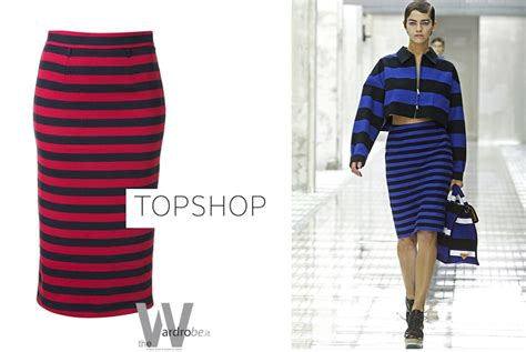 Topshops Take On The Prada Skirt by Wears Asos And Zara And Topshop The Wardrobe
