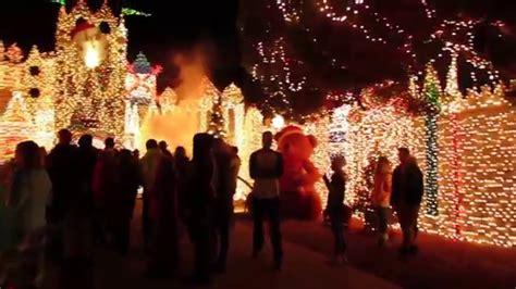 luxur lighting st george ut castle house christmas lights st george utah youtube