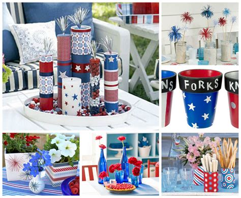 July 4th Table Decorations by Diy July 4th Table Decor Craftbnb
