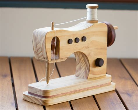 wooden toy sewing machine  warawood shed