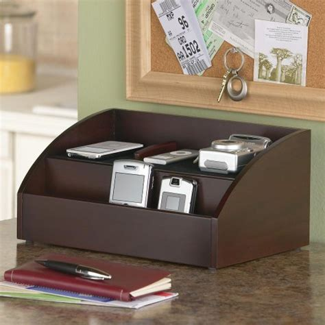 Electronic Charging Station Desk Organizer Charging Station And Desk Organizer For Handheld Electronics B00337r7ps