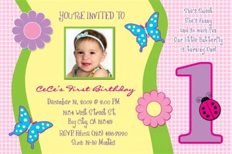 1 year birthday invitation templates free free one year birthday invitations template drevio