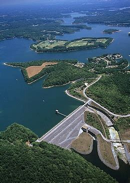 tims ford dam airphoto aerial photograph of tims ford dam franklin