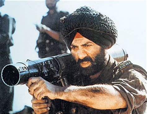 biography of border movie quiz time whose life is sunny deol s character in border