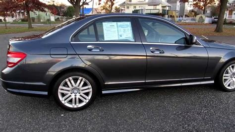 mercedes used nj used 2008 mercedes c300 4matic for sale in lyndhurst nj