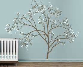 littlelion studio blossom tree extra large kids wall large family tree wall decal