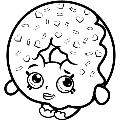 A Coloring Page Of Shopkins by 16 Unique And Shopkins Coloring Pages Of 2017