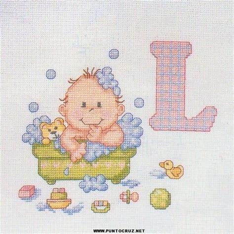 patrones de bordados para bebes bebes punto de cruz colecci 243 n de patrones punto de