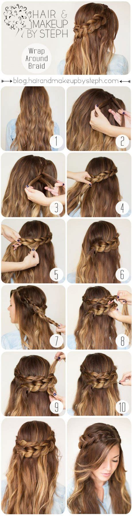 simple step by step winter hairstyle tutorials for tutoriales de trenzas actitudfem