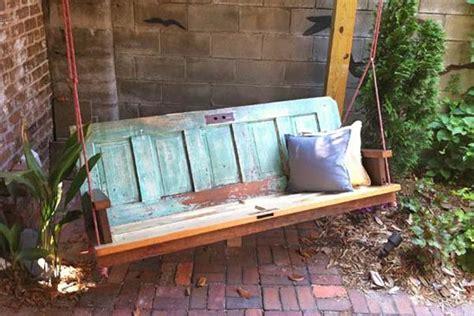door porch swing the best 35 no money ideas to repurpose old doors