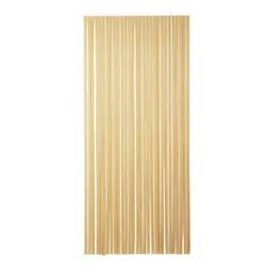 rideau de porte 224 232 res pvc brun beige 100 x 220 cm