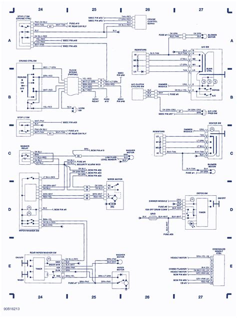 dodge daytona wiring diagram auto wiring diagrams