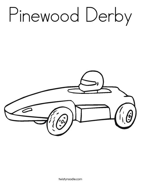 derby cars coloring pages pinewood derby coloring page twisty noodle