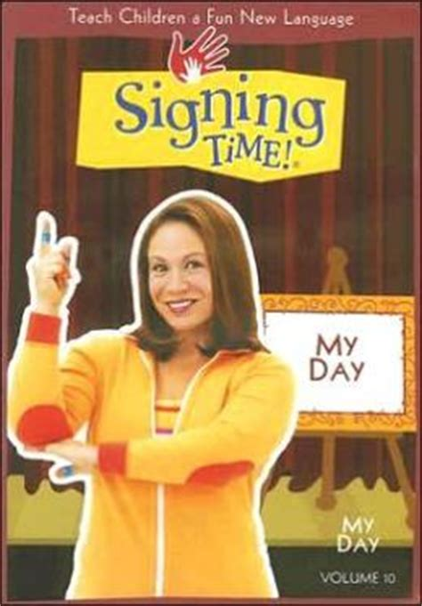Alex K Goes Shopping Desperate Book Tour Edition by Signing Time Vol 10 My Day By Signing Time Alex