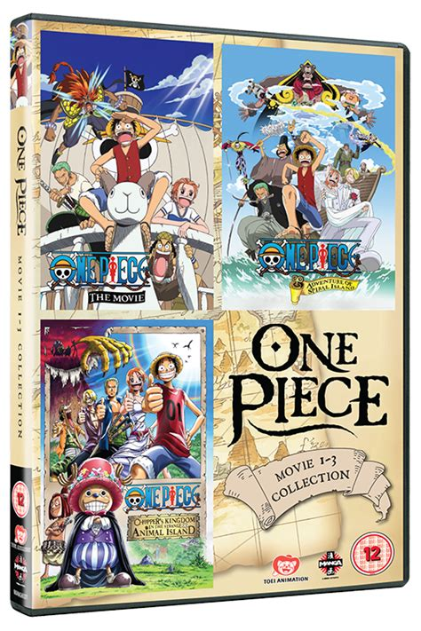 film one piece complet one piece movie collection 1 contains films 1 3 on dvd