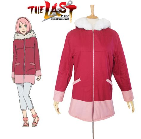Jaket Cool Anime The Last aliexpress buy free shipping the the last haruno winter coat anime