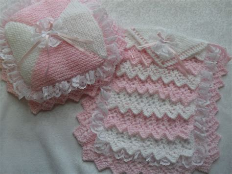 knit doll blanket nell s baby knits