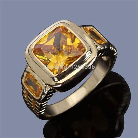 Sherry Topaz 10 02 Ct golden topaz rings silver jewelry