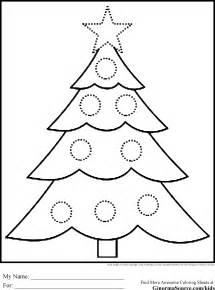 Christmas tree coloring pages coloring book 33 free coloring