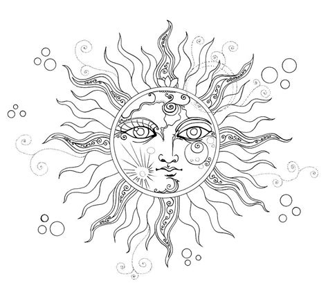 Solar Eclipse Line Drawing solar eclipse moon line drawing drawing by katherine nutt