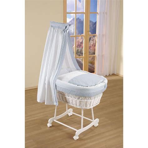 moses basket drape leipold wicker drape trio crib bedding nursery moses