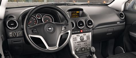 opel antara interior opel antara gallery interior views of the crossover suv