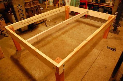 strong  tough platform bed diy   home diy bed
