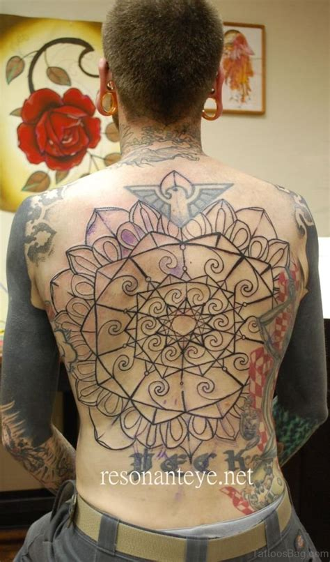geometric tattoo on back 69 great geometric tattoo design on back