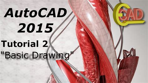 tutorial autocad 2015 find and replace youtube autocad 2015 tutorial 2 basic drawing youtube