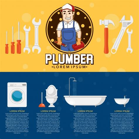 Ai Plumbing by Plumber Flyer Design Vector Free