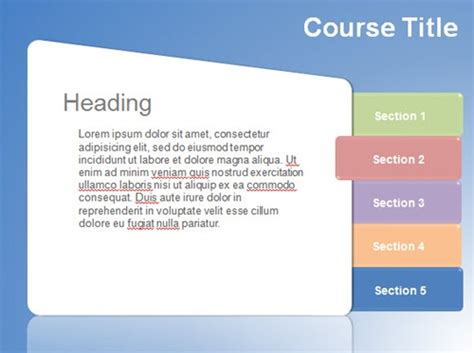 elearning powerpoint templates elearning template soft color