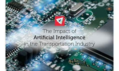 impact  artificial intelligence  transportation land sea air shipping services