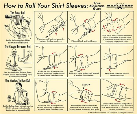 how to a to roll how to roll up your shirt sleeves the of manliness