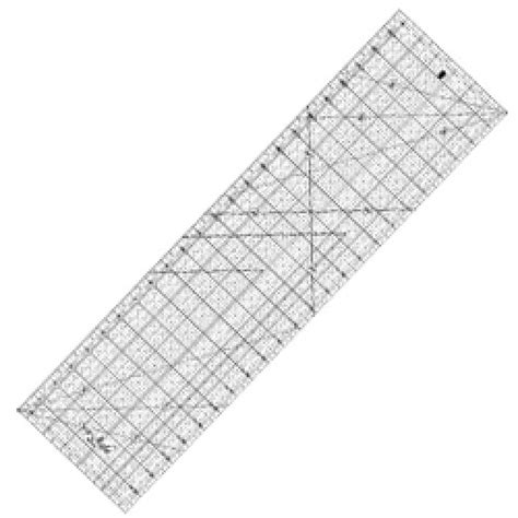 Quilt Ruler by Quilting Ruler 6 5 Quot X24 Quot
