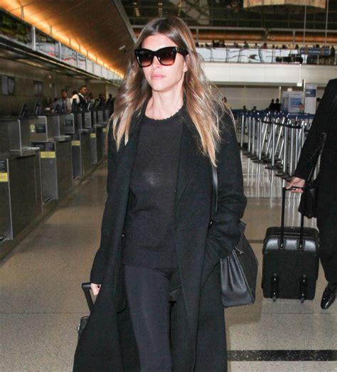 shiva safai shiva safai departs from lax airport in los angeles 11