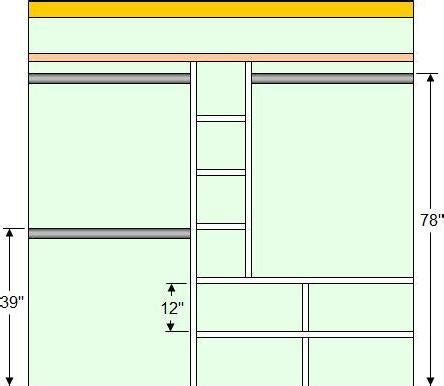 diy closet organizer plans for 5 to 8 closet how to make inexpensive closet organizers woodworking