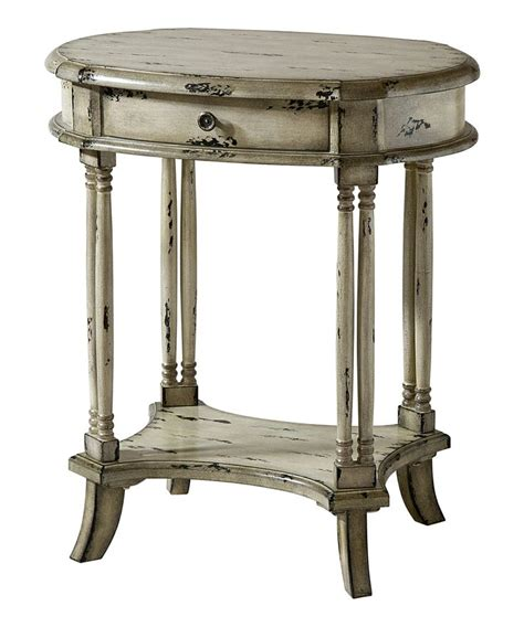 antique white side table for the home