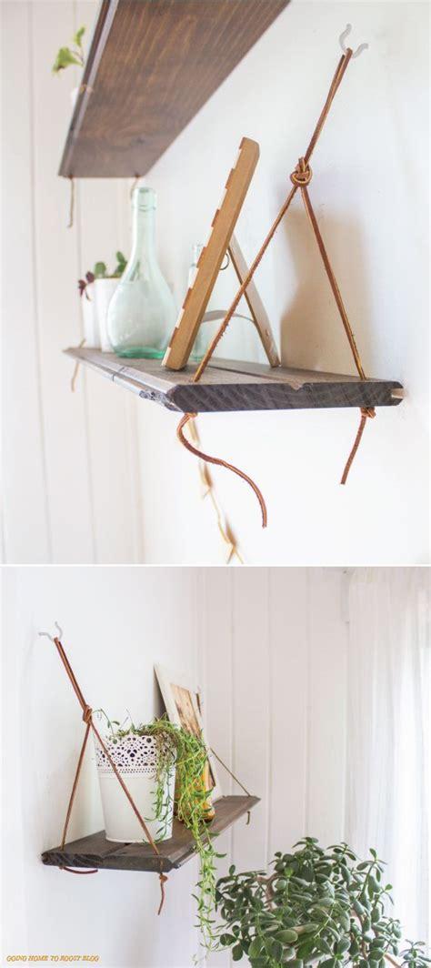 diy hanging shelves craft diy pinterest